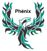 Logo Phénix avec mot Phénix
